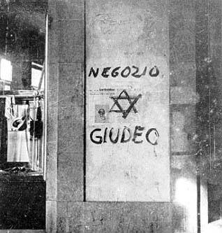 La discriminazione verso gli Ebrei durante il fascismo.