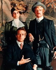 """Il triangolo amoroso in """"Butch Cassidy""""."""