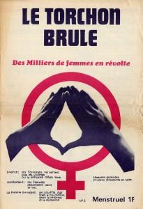 """La rivista francese """"Le torchon brûle""""."""