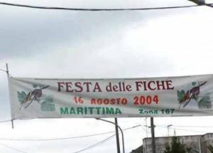 """La """"Festa delle fiche"""" (intese come frutto) a Marittima (Le)."""