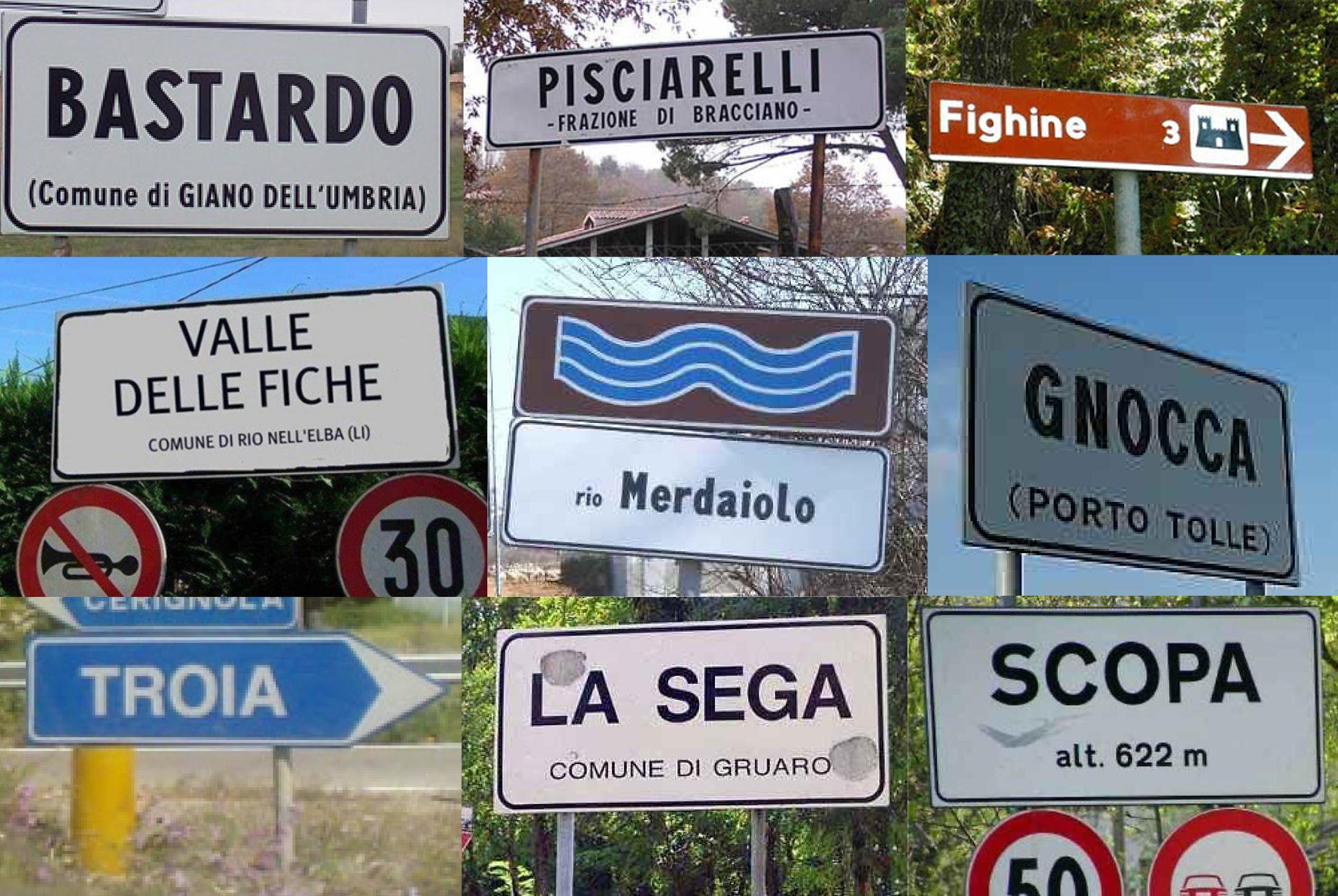 Le città più imbarazzanti d'Italia